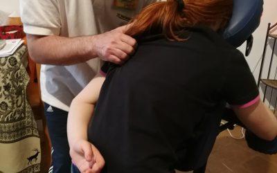 Il massaggio in ufficio